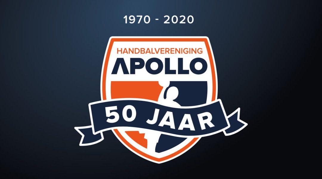 HV Apollo bestaat 50 jaar